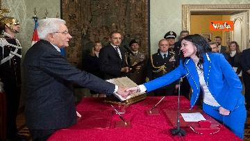 2 - Il giuramento dei neo Ministri dell'Istruzione Manfredi e Azzolina