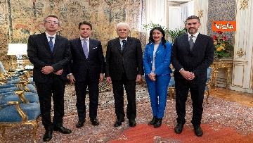 5 - Il giuramento dei neo Ministri dell'Istruzione Manfredi e Azzolina