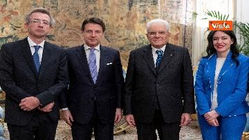 4 - Il giuramento dei neo Ministri dell'Istruzione Manfredi e Azzolina
