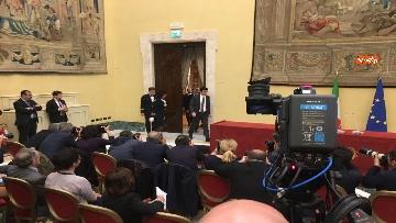 1 - Consultazioni, la delegazione del Pd incontra la stampa, le immagini