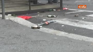 11 - Comizio Casapound a Genova, scontri tra antagonisti e polizia