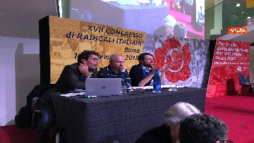 4 - Radicali, il congresso a Roma con Magi, Bonino, Cappato immagini