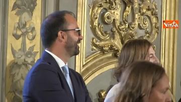 2 - Il giuramento del Ministro dell'Istruzione Lorenzo Fioramonti