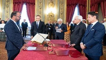3 - Il giuramento del Ministro dell'Istruzione Lorenzo Fioramonti