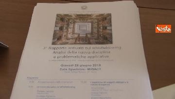 10 - Presentato rapporto su Whistleblowing con Cantone, Pignatone e Bonisoli