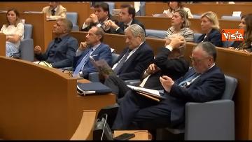 6 - Malagò e Giorgetti a convegno 'Emergenza Cancro' a Montecitorio