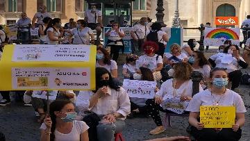 6 - Nidi privati, la protesta a Montecitorio contro il dl Rilancio
