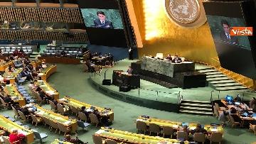 15 - Il premier Conte interviene all'Assemblea Generale delle Nazioni Unite