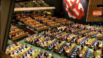 7 - Il premier Conte interviene all'Assemblea Generale delle Nazioni Unite