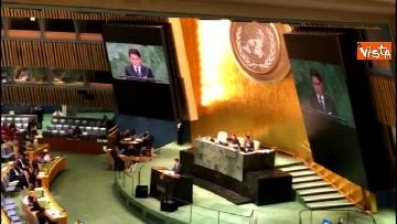 5 - Il premier Conte interviene all'Assemblea Generale delle Nazioni Unite