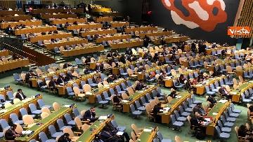 16 - Il premier Conte interviene all'Assemblea Generale delle Nazioni Unite