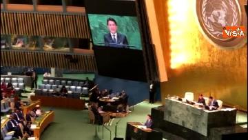 3 - Il premier Conte interviene all'Assemblea Generale delle Nazioni Unite
