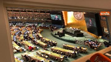 18 - Il premier Conte interviene all'Assemblea Generale delle Nazioni Unite