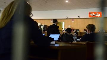 9 - Processo a dirottatore scuolabus Sy, le immagini dell'udienza