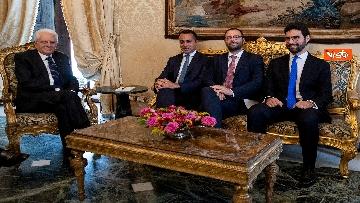 2 - Mattarella accoglie la delegazione del M5s guidata da Di Maio