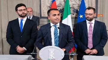 3 - Mattarella accoglie la delegazione del M5s guidata da Di Maio