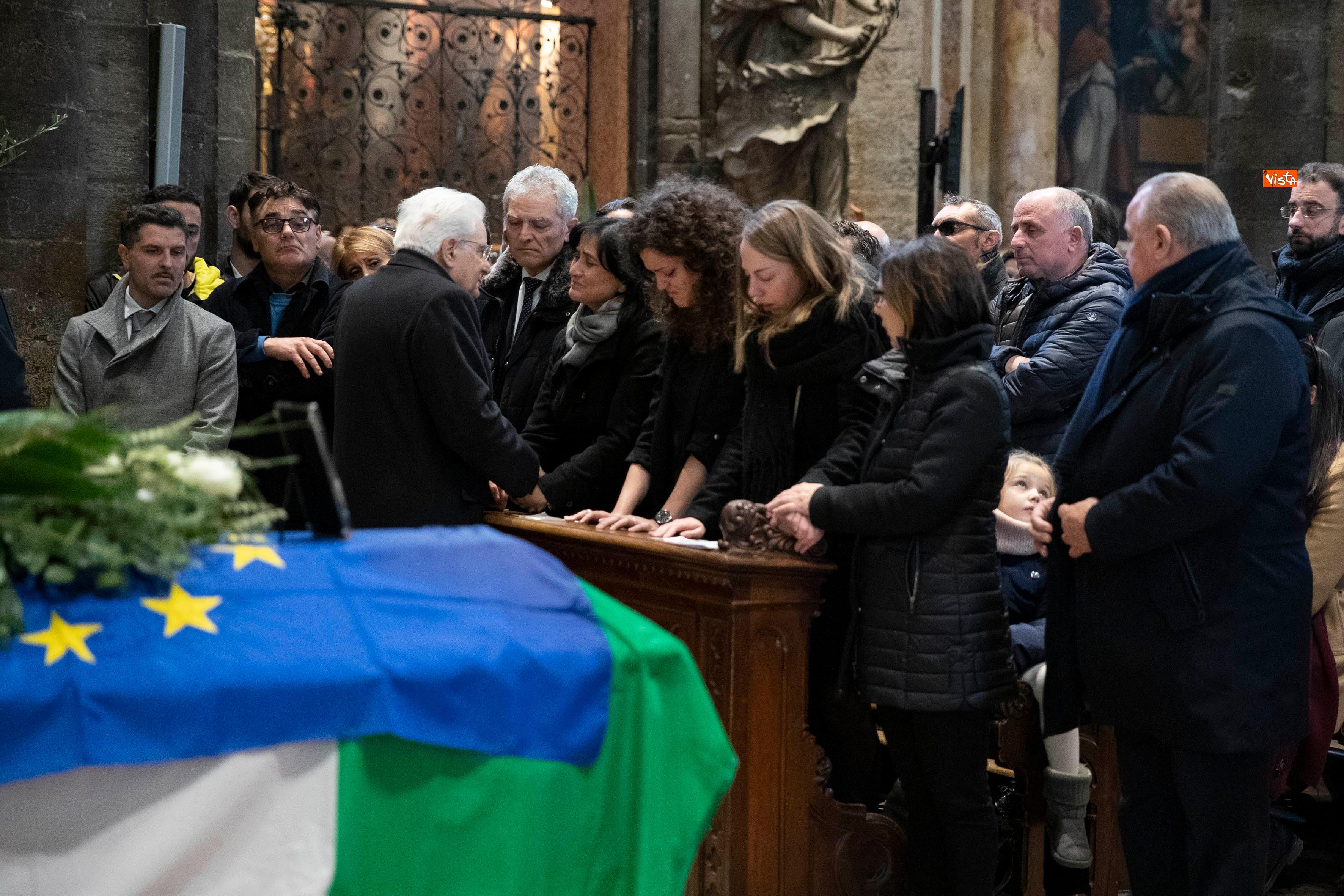 Il Presidente Mattarella partecipa alle esequie solenni di Antonio Megalizzi _02