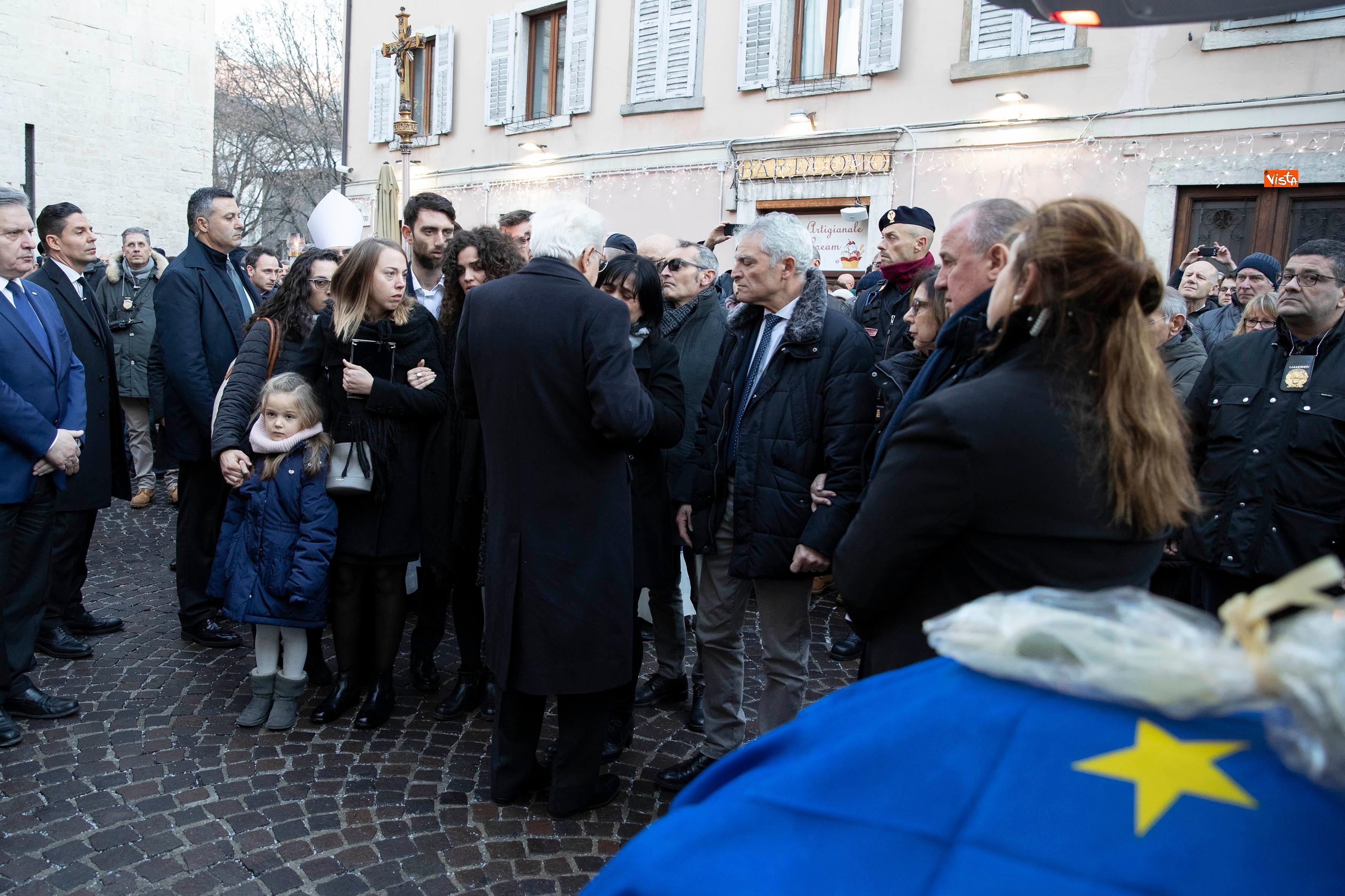 Il Presidente Mattarella partecipa alle esequie solenni di Antonio Megalizzi _04