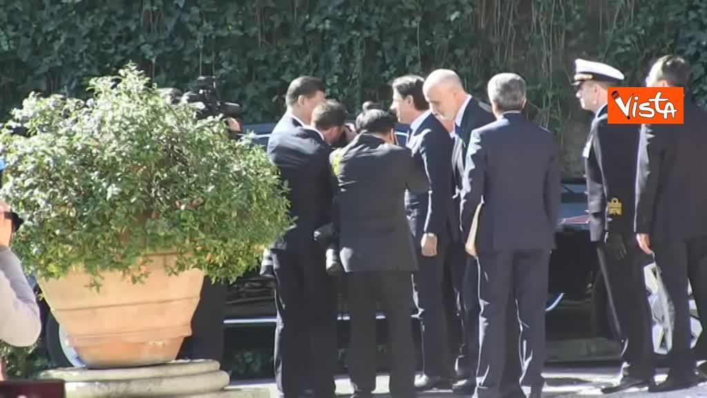 23-03-19 Conte accoglie Xi Jinping a Villa Madama_l'arrivo del presidente cinese