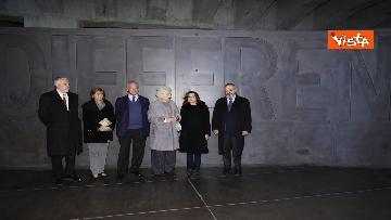 4 - Segre e Casellati visitano il Memoriale della Shoah di Milano, le immagini