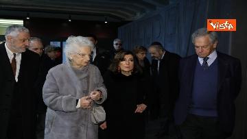 3 - Segre e Casellati visitano il Memoriale della Shoah di Milano, le immagini