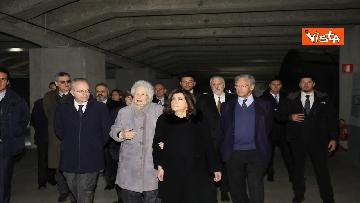 5 - Segre e Casellati visitano il Memoriale della Shoah di Milano, le immagini