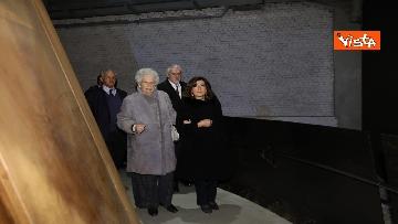 6 - Segre e Casellati visitano il Memoriale della Shoah di Milano, le immagini