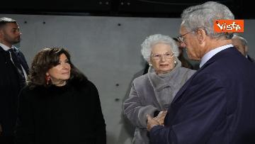 7 - Segre e Casellati visitano il Memoriale della Shoah di Milano, le immagini