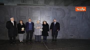 8 - Segre e Casellati visitano il Memoriale della Shoah di Milano, le immagini