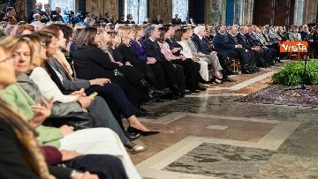 9 - Mattarella alle celebrazioni per l'8 marzo al Quirinale