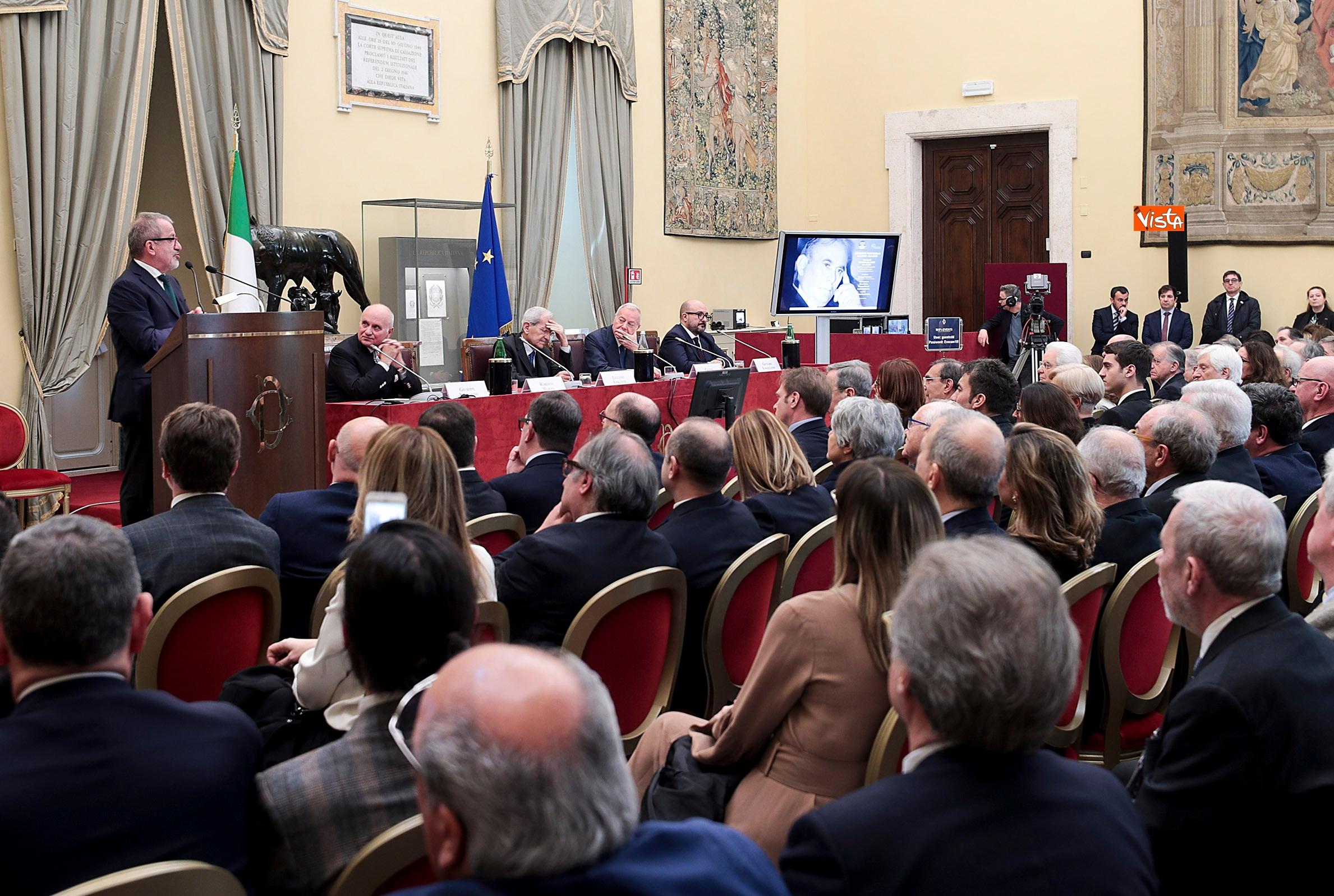 08-02-19 Mattarella alla commemorazione di Giuseppe Tatarella 02