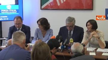 1 - Conferenza stampa Fi su dl dignita', le immagini