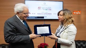 6 - Mattarella partecipa alle celebrazioni per i 40 anni del Sistema Sanitario Nazionale