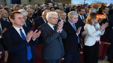 8 - Mattarella partecipa alle celebrazioni per i 40 anni del Sistema Sanitario Nazionale