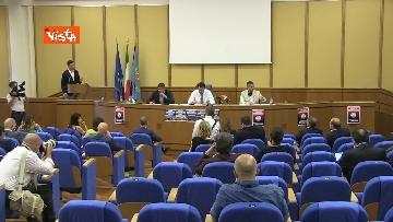 1 - Salvini in conferenza stampa alla Regione Lazio, immagini