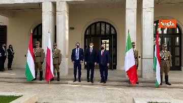 1 - Salvini incontra il primo ministro ungherese Orban e quello polacco Morawieck. Le immagini