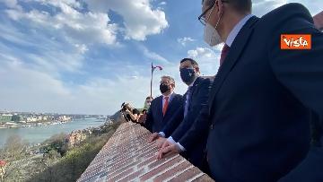 9 - Salvini incontra il primo ministro ungherese Orban e quello polacco Morawieck. Le immagini