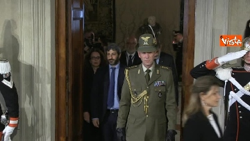 1 - Consultazioni, Roberto Fico al Quirinale per incontrare Mattarella