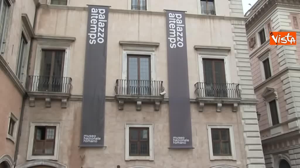 05-03-19 Bonisoli visita le meraviglie di Palazzo Altemps a Roma