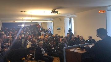 12 - Salvini, Le Pen in conferenza con il segretario UGL Capone