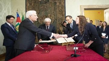 3 - Governo, Locatelli giura davanti a Mattarella