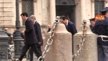 3 - Consultazioni, il Pd al Quirinale guidato da Martina, Orfini, Delrio e Marcucci