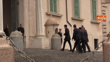 5 - Consultazioni, il Pd al Quirinale guidato da Martina, Orfini, Delrio e Marcucci