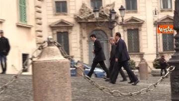 4 - Consultazioni, il Pd al Quirinale guidato da Martina, Orfini, Delrio e Marcucci