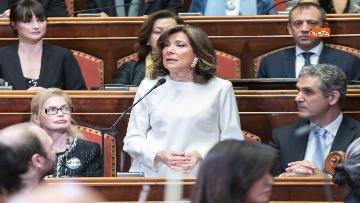 5 - Ennio Morricone premiato in Senato dalla presidente Casellati