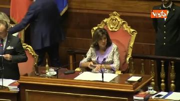 2 - Conte in aula al Senato per riferire sulla nave Diciotti