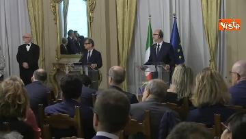5 - Tria e Moscovici in conferenza al Mef