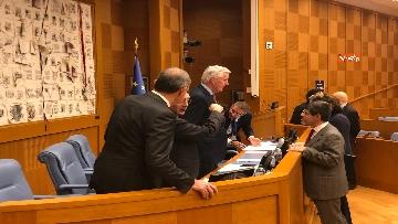 16 - Negoziatore Ue per Brexit, Barnier, incontra Fico e viene ascoltato in Commissione Esteri