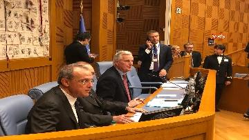 12 - Negoziatore Ue per Brexit, Barnier, incontra Fico e viene ascoltato in Commissione Esteri