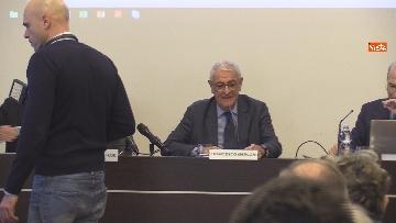 """4 - Bonafede partecipa alla conferenza """"Dove e' finita la corruzione?"""" all'Anac"""